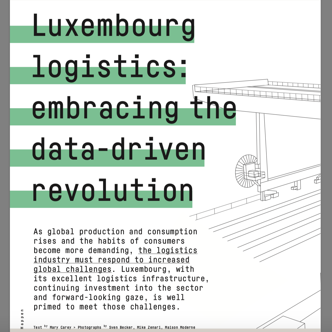 Luxembourg logistics: embracing the data-driven revolution