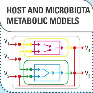 Host and microbiota metabolic models