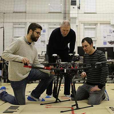 SnT's Drones Lab works with CargoLux to carry out aircraft safety inspections autonomously