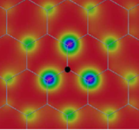 Excitonic wave function in hexagonal boron nitride