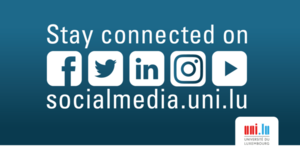 Stay connected: Link to socialmedia.uni.lu