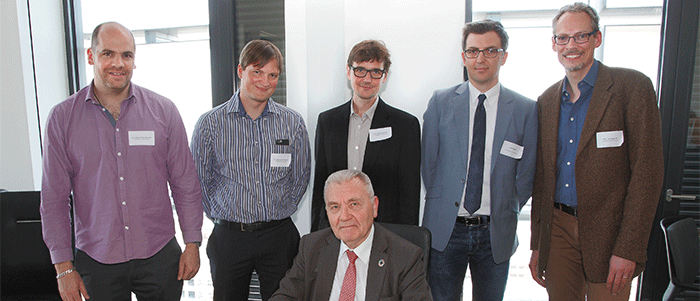 ERC President visits the University