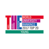 Times Higher Education (THE) Young University Rankings 2017 logo